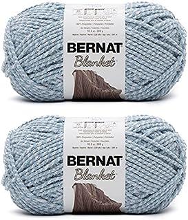 Bernat Yarn Blanket, Blue Fog Twist, 300g