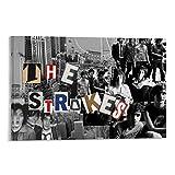 JHDSL The Rock Band Strokes Poster, dekoratives Gemälde,