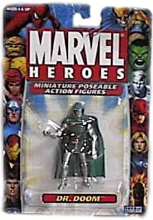 Toy Biz Marvel Heroes Miniature Poseable Dr. Doom Action Figure