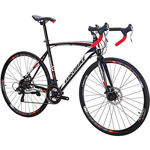 EUROBIKE Road Bike XC550 21 Speed 54cm Frame 700C Light Spoke Wheels Road Bicycle