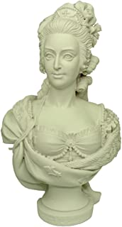 Souvenirs of France - Bust of Marie-Antoinette by Boizot - Height : 5.1in - Color : White