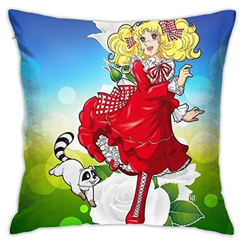 Ahdyr Candy Klin Cushion Throw Pillow Cover Decorative Pillow Case For Sofa Bedroom 18 X 18 Inch