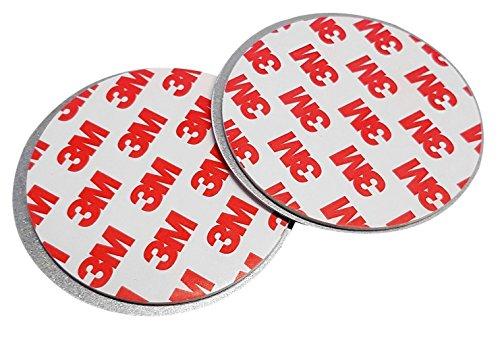 Defacto Magnet Montageplatte für Rauchwarnmelder Magnethalter für Rauchmelder, Magnetbefestigung für Brandmelder