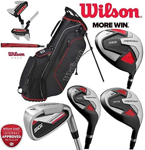 Wilson Prostaff HDX complet Club de golf en acier Ensemble...
