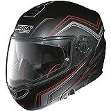 N104–Casco Absolute como N- Com mattschwarz XXL–Casco de Moto