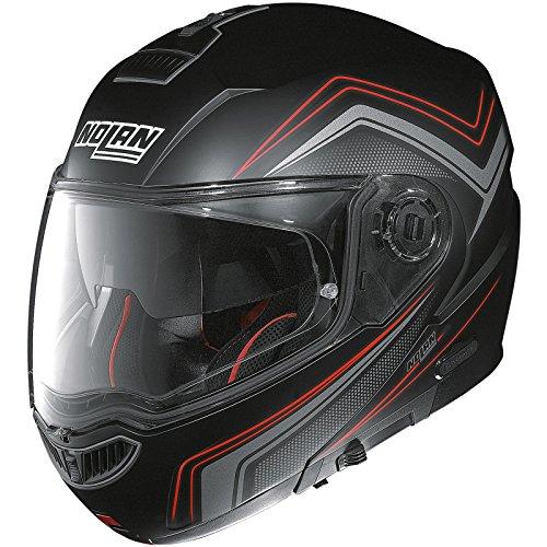 N104 Klapphelm Absolute Como N-Com Mattschwarz S - Motorradhelm