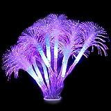 OSALADI Petunia Luz de Fibra Óptica Led Luces de Cadena de Colores de Hadas Decoración de Luz de Noche Romántica para Fiesta de Bodas Dormitorio Cumpleaños