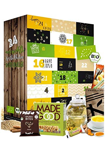 Advent Calendar 2020 Healthy I HEALTHY ADVENT CALENDAR I Healthy snacks in the Christmas season I Advent calendar for conscious people, athletes and everyone with a healthy lifestyle product name