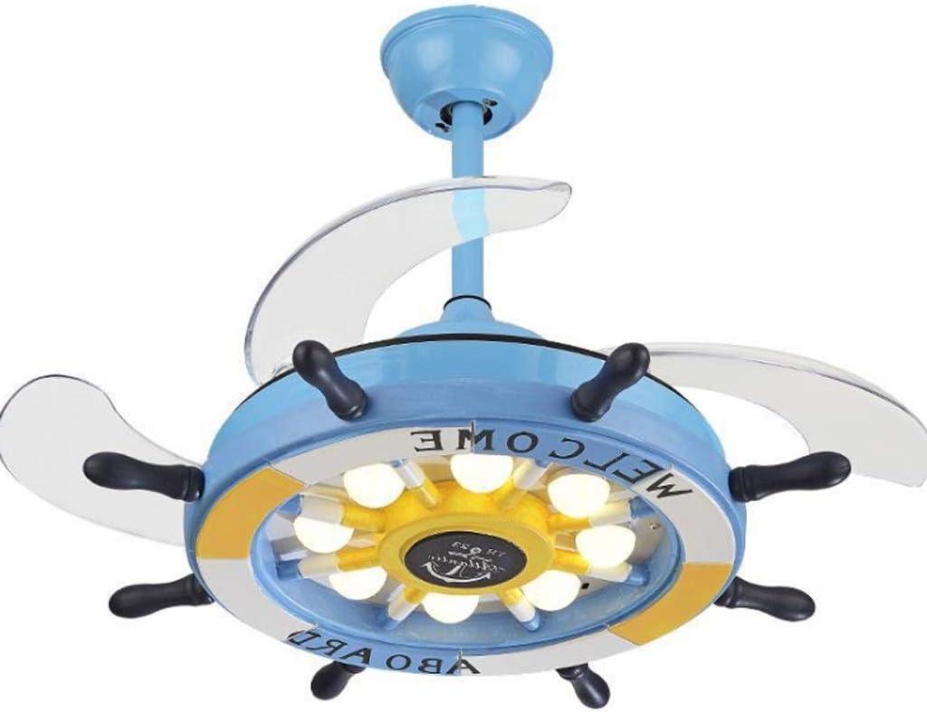 Teri Ventilador de Techo con luz Moderna 42