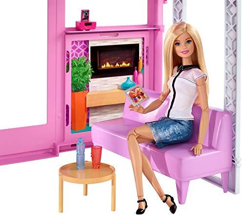 Maison de Luxe Barbie 3 Étages Rose - 4