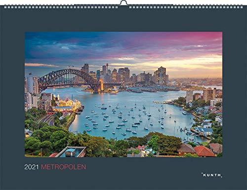 Metropolen 2021: Wandkalender (PANORAMA / KUNTH-Wandkalender 60 x 45 cm)
