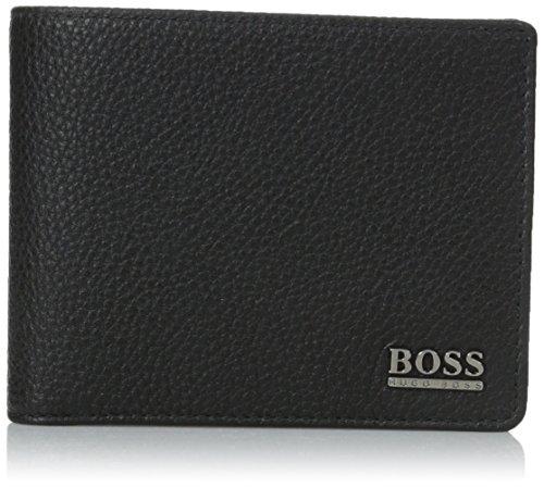 HUGO BOSS Geldboerse Monad, Schwarz, 12 x 10 x 2,5 cm