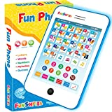 Funshpiel Toddler Tablet - Electronic Toddler Computer Pad for Learning ABCs and Numbers - Educational Toy Laptop and Musical Childrens Learning Tablet with Math and Spelling Games for Age 3+