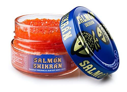 Eurocaviar - Shikran - Perle di caviale di salmone affumicato 100 g
