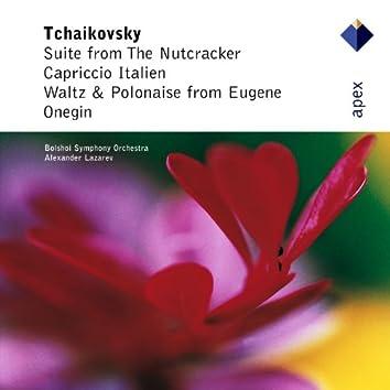 Tchaikovsky : The Nutcracker Suite, Capriccio Italien & Dances from Eugene Onegin  -  Apex