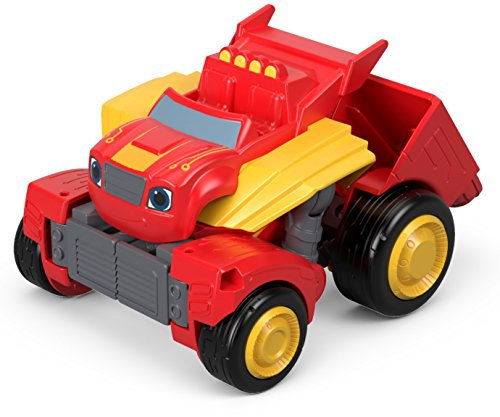 Blaze y los Monster Machines- Robot Supertransformación de Juguete, Multicolor (Mattel FPJ40)