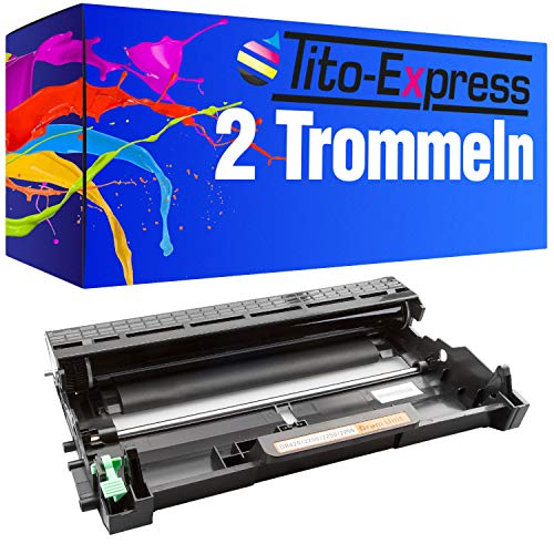 Tito-Express PlatinumSerie 2 Tambor Compatible con Brother DR-2200 para DCP-7060D 7065DN 7070DW HL-2215 2230 2240 2240D 2250DN 2270DW MFC-7360N 7460DN 7470D 7860DN 7860DW