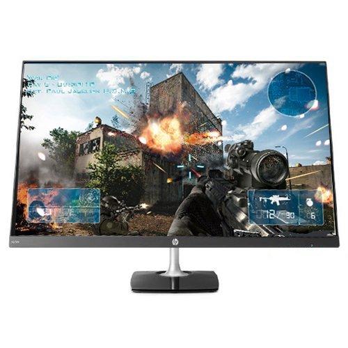 "2018 HP N270h 27"" Full HD 1920 x 1080 at 60Hz IPS LED Backlight Gaming Monitor, 16:9, 5 Ms, 1,000:1, 250 Nit, 16.7 Million Colors, Anti-Glare, HDMI/VGA"