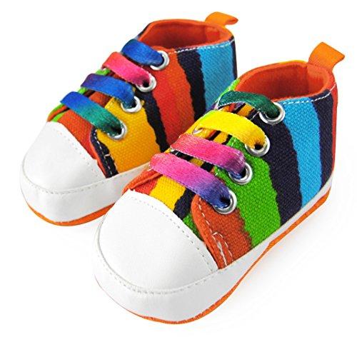 Axy Baby plastique Tapis D'éveil Chaussures Chaussures bébé 0 à 12 mois – Sunshine Boy – Modèle 1 - Multicolore - Mehrfarbig,