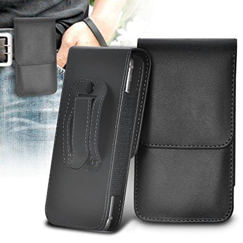 i-Tronixs ASE für OUKITEL K3(PU-Leder, mit Gürtelclip Tasche Hülle Flip Cover Holster mit + Aluminium-Oukitel K3Case von