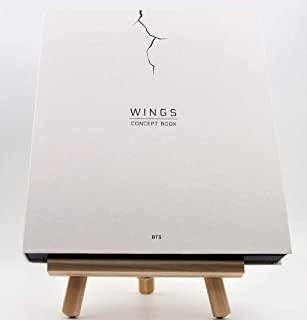 BTS Wings Concept Book Bangtan Boys Members Limited Edition 1 Lenticular Card