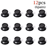 Honbay 6Pairs(12PCS) Replacement Joystick Thumb Stick Grips Cap Cover for PlayStation 4 PS4 Controller