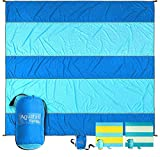 Best Travel Blankets - Aquatus Sandproof Beach Blanket Extra Large Oversized 10ft Review