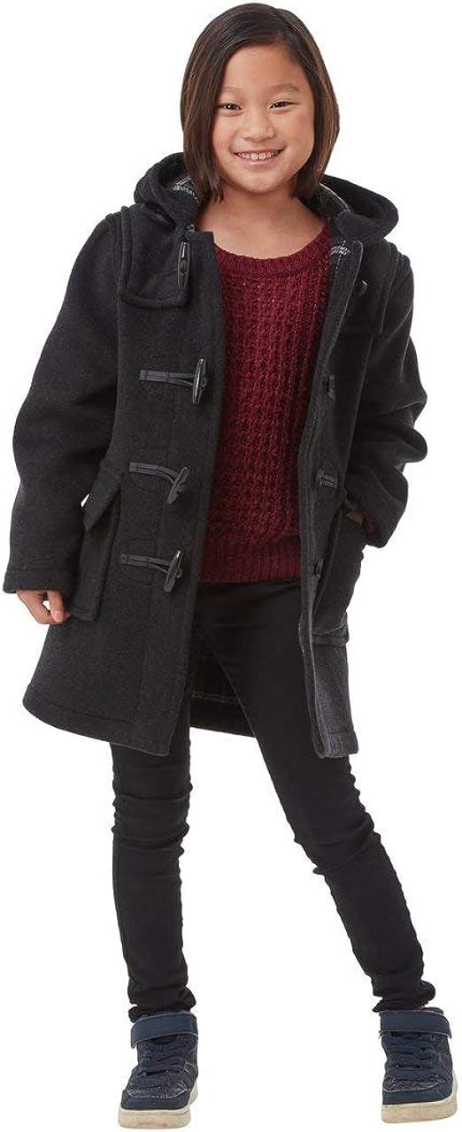 Kids Classic Duffle Coat (Toggle Coat) (10-13, Charcoal)