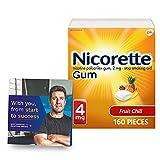 Nicorette 4mg Nicotine Gum to Help Quit...