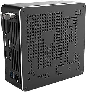 Partaker B18 DDR4 Coffee Lake 8th Gen Mini PC Core I7 8750H DDR4 RAM NGFF SSD UHD Graphics 630 Mini DP HDMI WiFi,Barebone ...