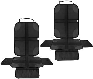 Komfortable Kindersitzunterlage Autositzauflage ISOFIX geeignete Unterlage f/ür Kindersitze 1 Pack