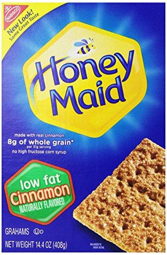 Honey Maid Low Fat Cinnamon Graham Crackers, 14.4 oz