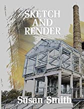 Interior spaces sketchbook: Big sketching and rendering journal, 200 blank pages, 8.5 by 11