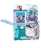 Joy Toy Disney Frozen Set con 6 Elastici, 2 PINZE per Capelli E BORSETTINA con Pailettes, Colore colorato, Bambini, 68170