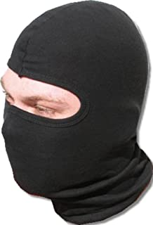 Wz. SODIAL Schwarz Acryl Militaerisch Sturmhaube mit Drei Loecher Sturmhaube Skimuetze Sturmmaske Helm