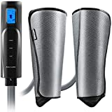 Compression Leg and Foot Massager with Heat - Calf Air Massager for Circulation - Massage for Arm, Leg, Calf - Support Calves Foot Pain, Pregnancy - Relax Gifts for Women,Men,Mom,Dad