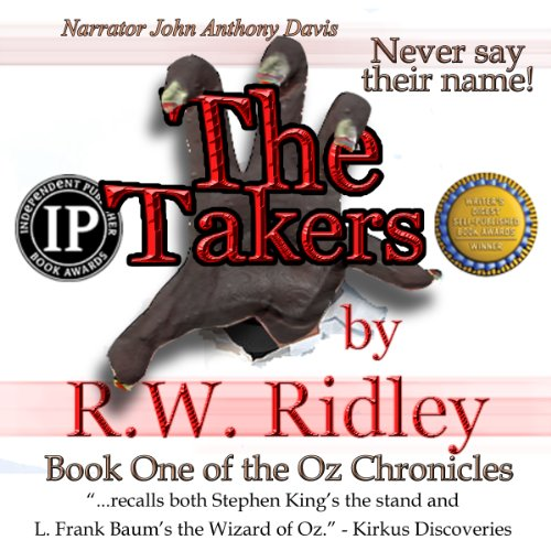 The Takers audiobook cover art