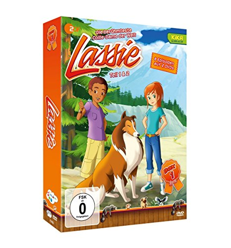 Lassie - Die Neue Serie - Box 1 [2 DVDs]