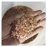 Grava de cristal natural a granel piedra de fresa de cristal desgasificación en polvo de cristal de grava de cristal (color: 100 g, tamaño: aproximadamente 30 50 mm)