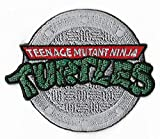 J&C TMNT Teenage Mutant Ninja Turtles 3' Logo Embroidered Sew/Iron-on Patch