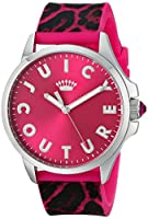 Juicy Couture レディース 1901187 Jetsetter アナログディスプレイ クォーツ ピンク 腕時計