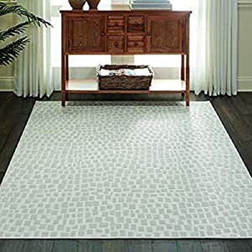Marca de Amazon - Movian Archar, alfombra rectangular, 221 de largo x 160 cm de ancho (diseño geométrico)