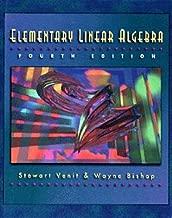 By Stewart Venit Wayne Bishop - Elementary Linear Algebra (4th Revised edition) (12.2.1994)