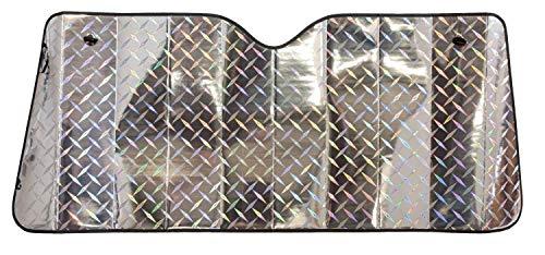 Walser Front Sonnenschutz Laser Design 130 x 60 cm mit Luftkammern