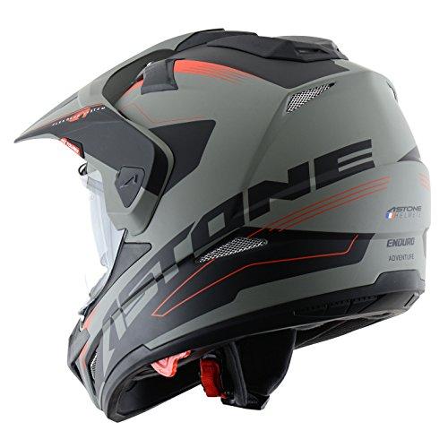Astone Helmets tourer-advbrl Kopfhörer Tourer Adventure, Grau/Schwarz, L - 4