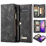 AKHVRS Galaxy S10 5G Wallet Case,Handmade Premium Cowhide Leather...