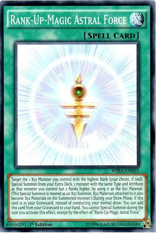 Yu-Gi-Oh! - Rank-Up-Magic Astral Force - WIRA-EN055 - Common - 1st Edition (WIRA-EN055) - Wing Raiders - 1st Edition - Common