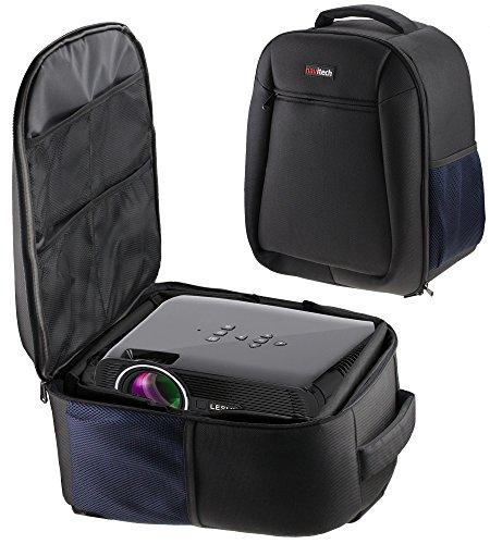 Navitech Rugged Black & Blue Backpack / Rucksack / Case / Cover For The RAGU RG-01 Mian