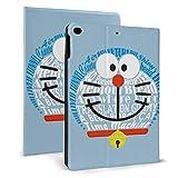 ドラえもん Doraemon Ipad Mini4/5ケース Ipad Air 1/2 ケース タブレットケース 手帳型 オートスリープ機能 三つ折スタンド Ipadカバー 薄型 軽量 傷防止 全面保護型 フレキシブルtpu背面 タブレット専用 2020新型ケース