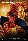 SPIDER-MAN 2 MOVIE POSTER 1 Sided ORIGINAL DESTINY 27x40 TOBEY MAGUIRE